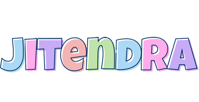 Jitendra pastel logo