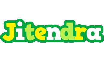 Jitendra soccer logo