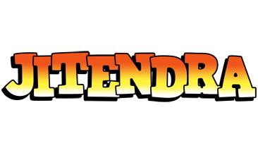 Jitendra sunset logo