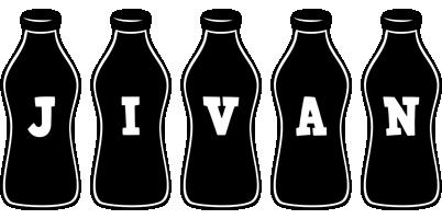 Jivan bottle logo