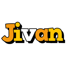 Jivan cartoon logo