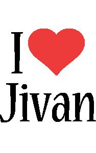 Jivan i-love logo
