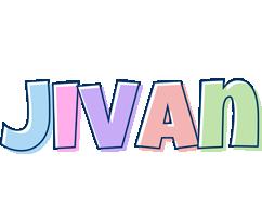 Jivan pastel logo
