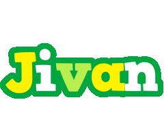 Jivan soccer logo