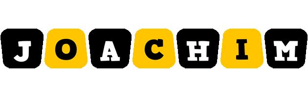 Joachim boots logo