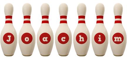 Joachim bowling-pin logo