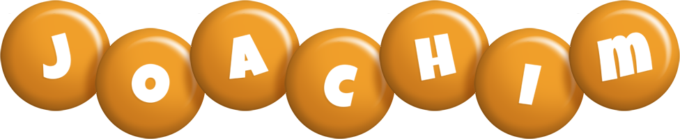 Joachim candy-orange logo
