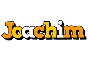 Joachim cartoon logo
