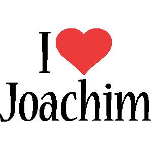 Joachim i-love logo