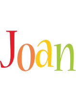 Joan birthday logo