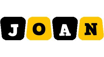 Joan boots logo