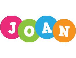 Joan friends logo