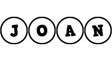 Joan handy logo