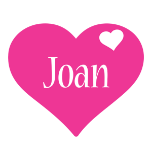 Joan love-heart logo