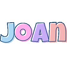 Joan pastel logo