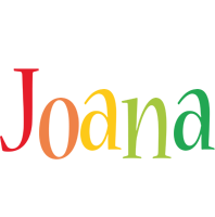 Joana birthday logo