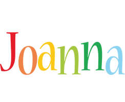 Joanna birthday logo