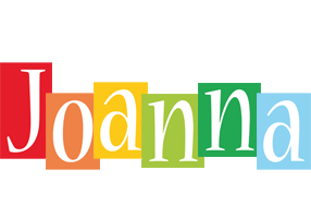 Joanna colors logo