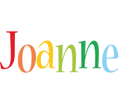 Joanne birthday logo
