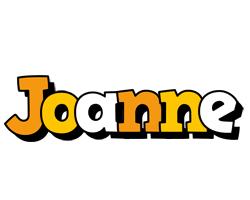 Joanne cartoon logo