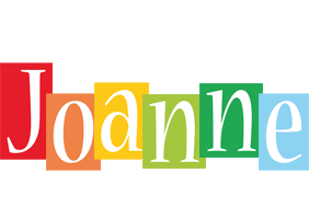Joanne colors logo
