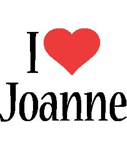 Joanne i-love logo