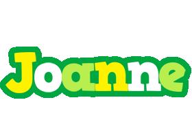 Joanne soccer logo