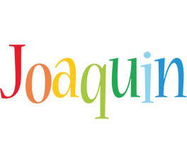 Joaquin birthday logo