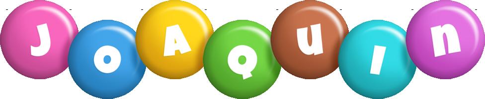 Joaquin candy logo