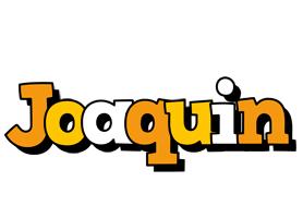 Joaquin cartoon logo