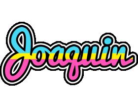 Joaquin circus logo