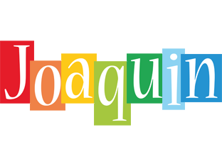 Joaquin colors logo