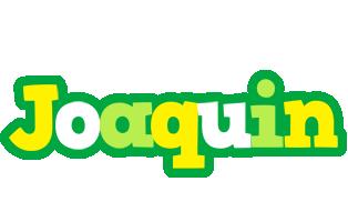 Joaquin soccer logo