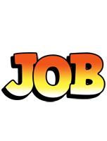 Job sunset logo