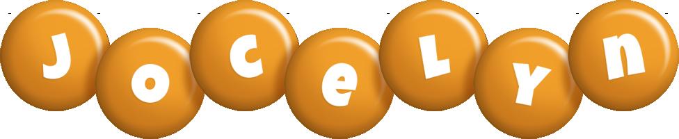Jocelyn candy-orange logo