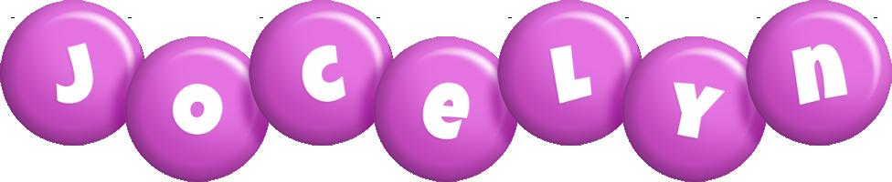 Jocelyn candy-purple logo