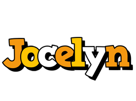 Jocelyn cartoon logo