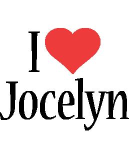 Jocelyn i-love logo