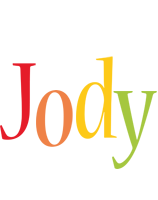 Jody birthday logo