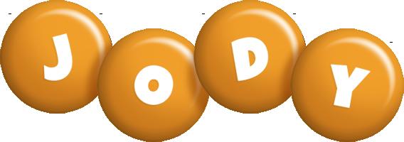 Jody candy-orange logo