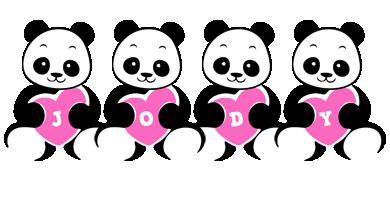 Jody love-panda logo