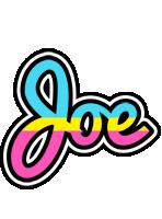 Joe circus logo