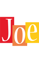 Joe colors logo