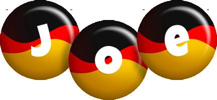 Joe german logo