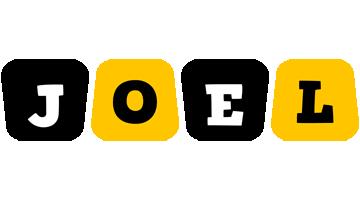 Joel boots logo