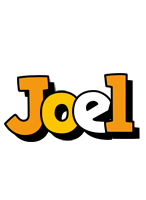 Joel cartoon logo