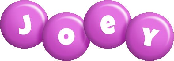 Joey candy-purple logo
