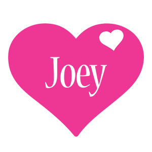 Joey love-heart logo