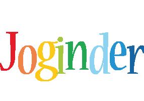 Joginder birthday logo