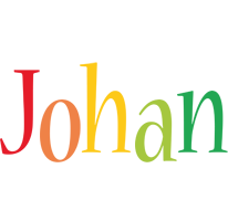 Johan birthday logo